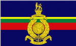 Royal Marines Large Flag - 5' x 3'.